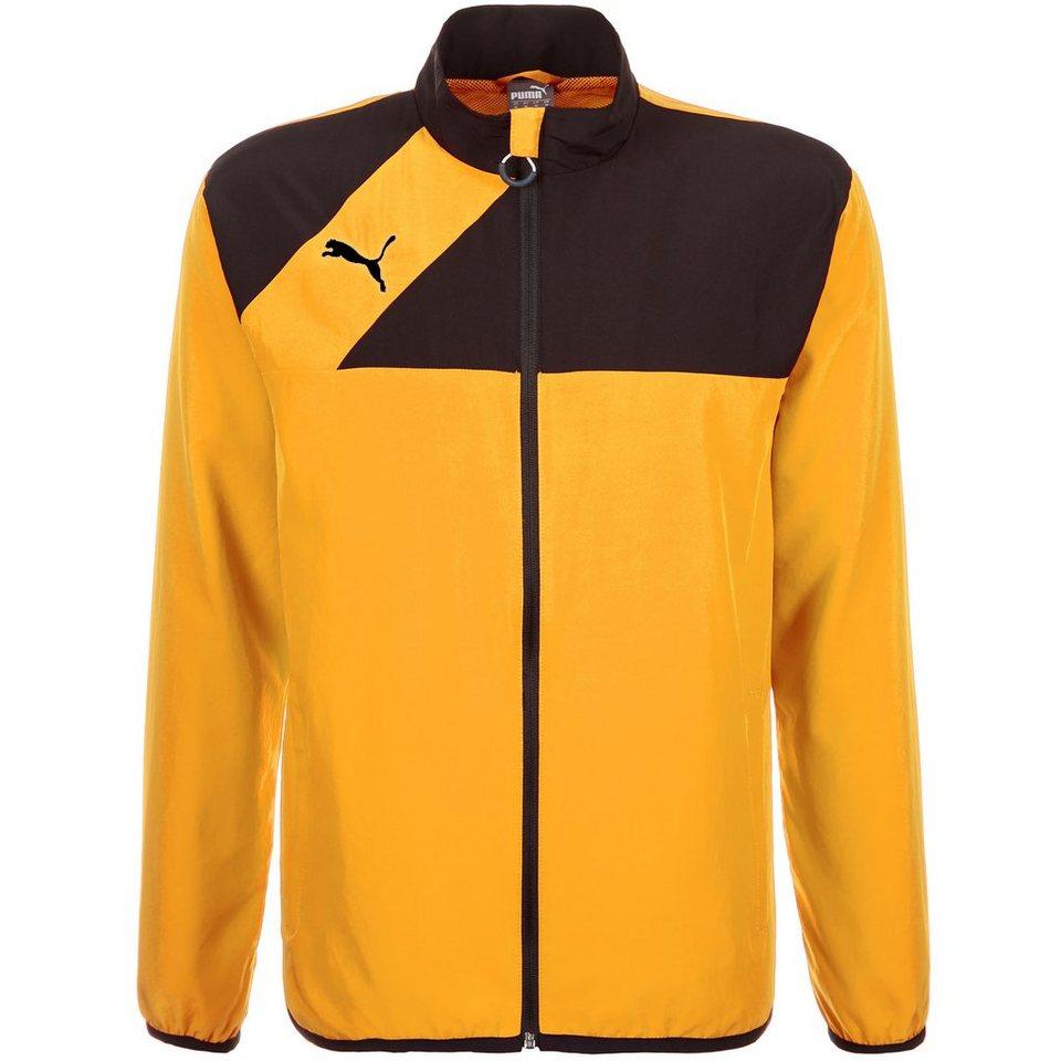 PUMA Esquadra Woven Trainingsjacke Herren in gelb / schwarz