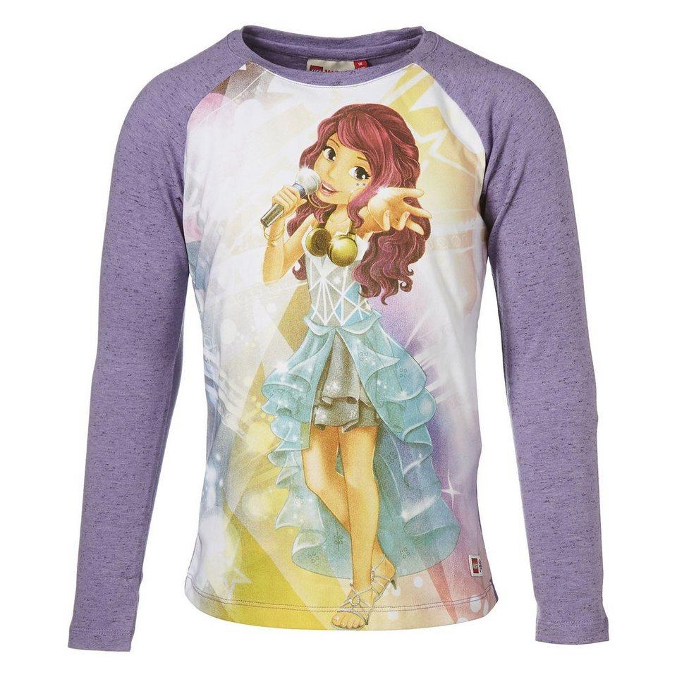 "LEGO Wear Friends Langarm-T-Shirt Tamara ""Zaubermusik"" langarm Shirt in lila"