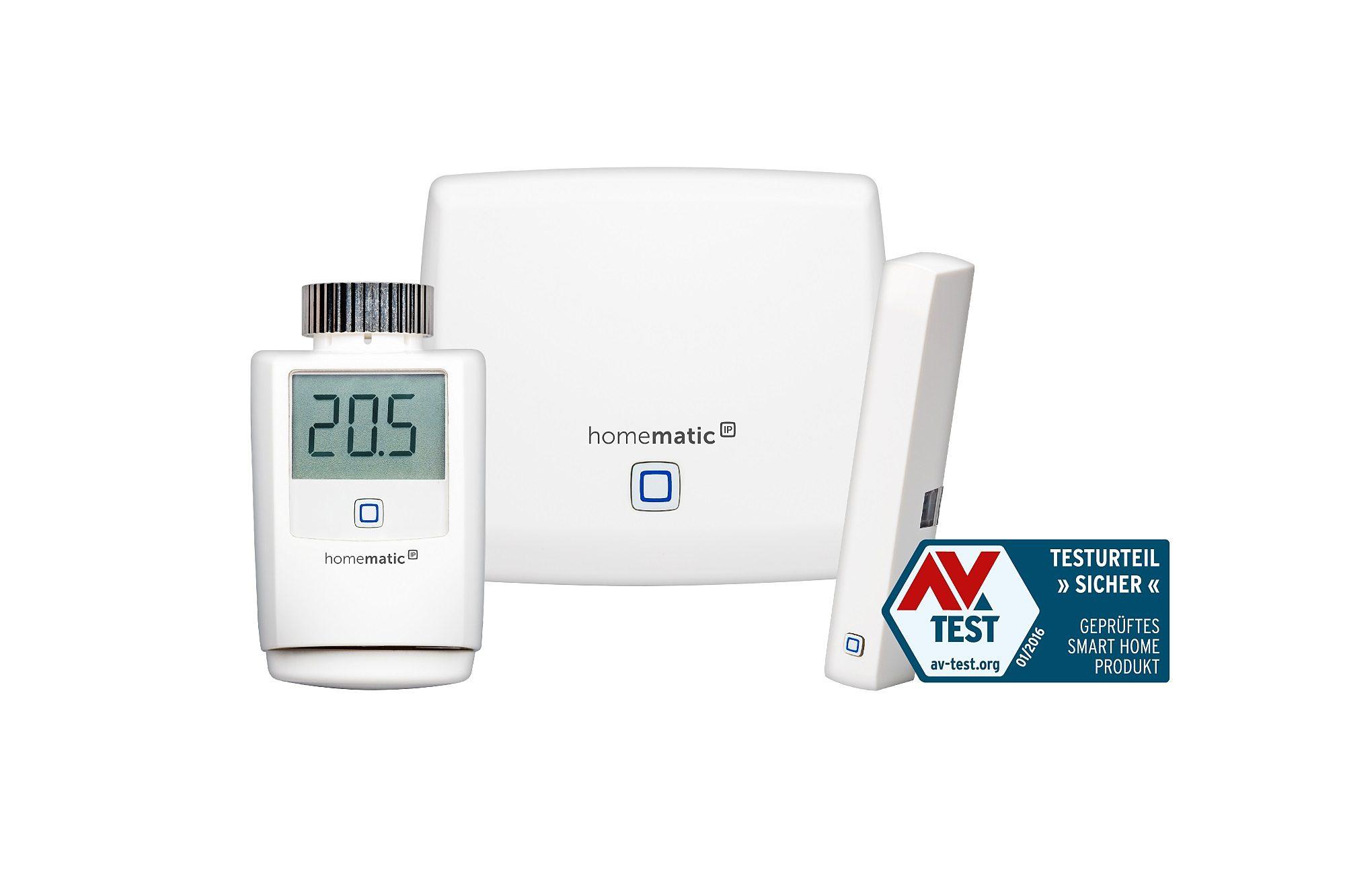 Homematic IP - Smart Home - Energie & Komfort »Starter Set Raumklima«