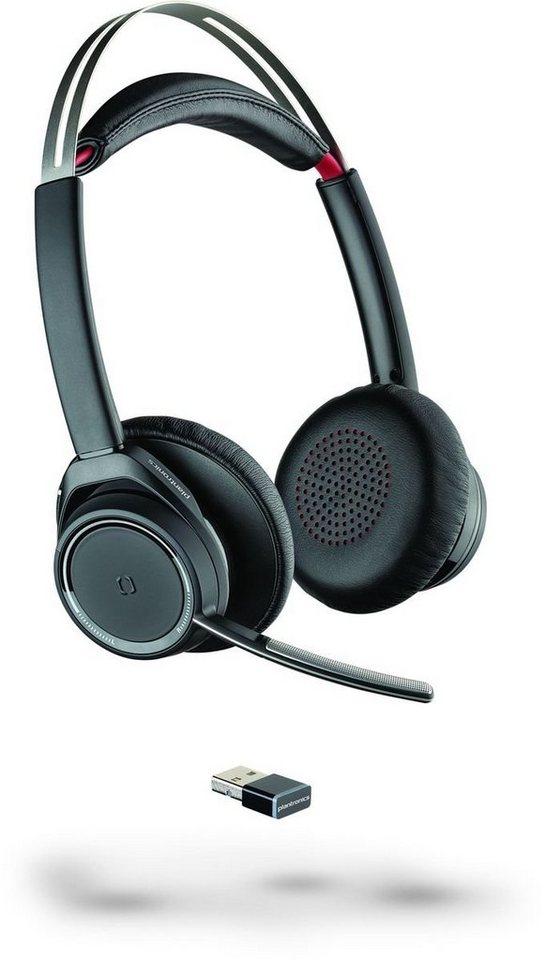 Plantronics Headset »Voyager Focus UC B825 (ohne LS)« in Schwarz