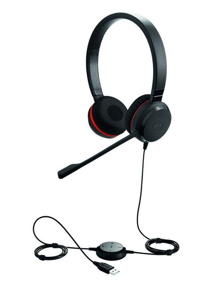 Jabra Headset »Evolve 30 II MS binaural USB« in Schwarz