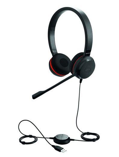 Jabra Headset »Evolve 30 II MS binaural USB«