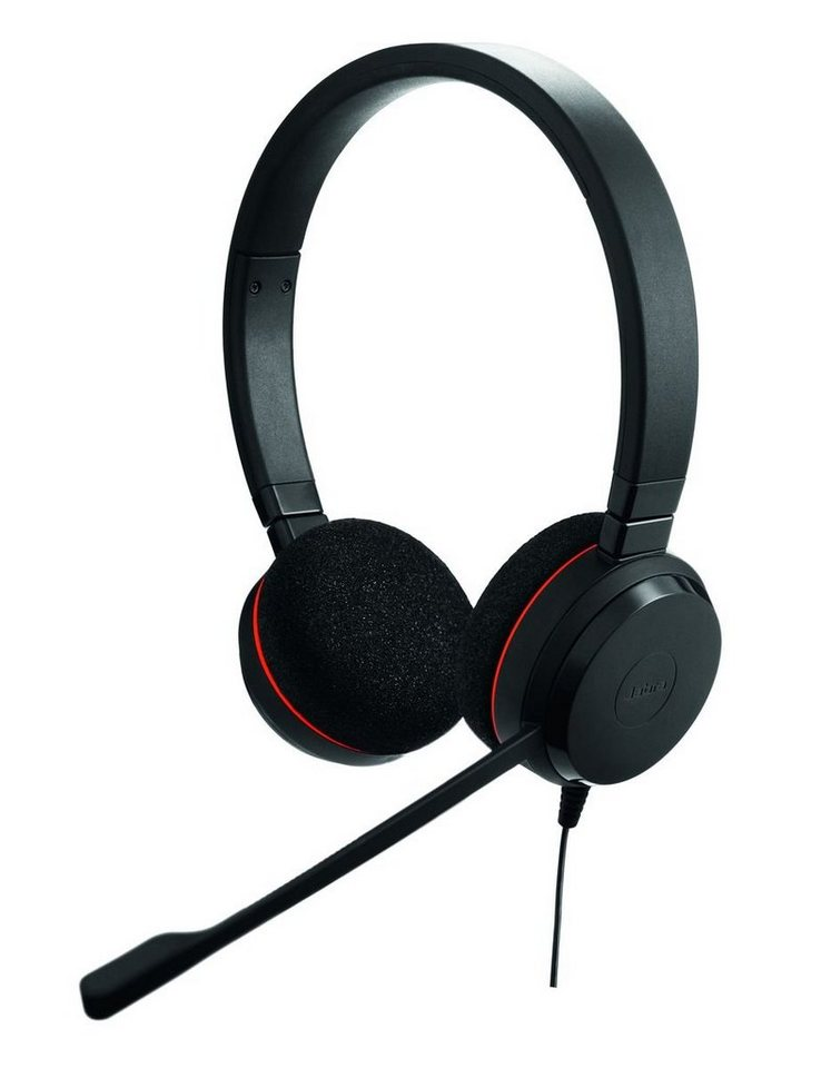 Jabra Headset »Evolve 20 MS Duo USB NC« in Schwarz
