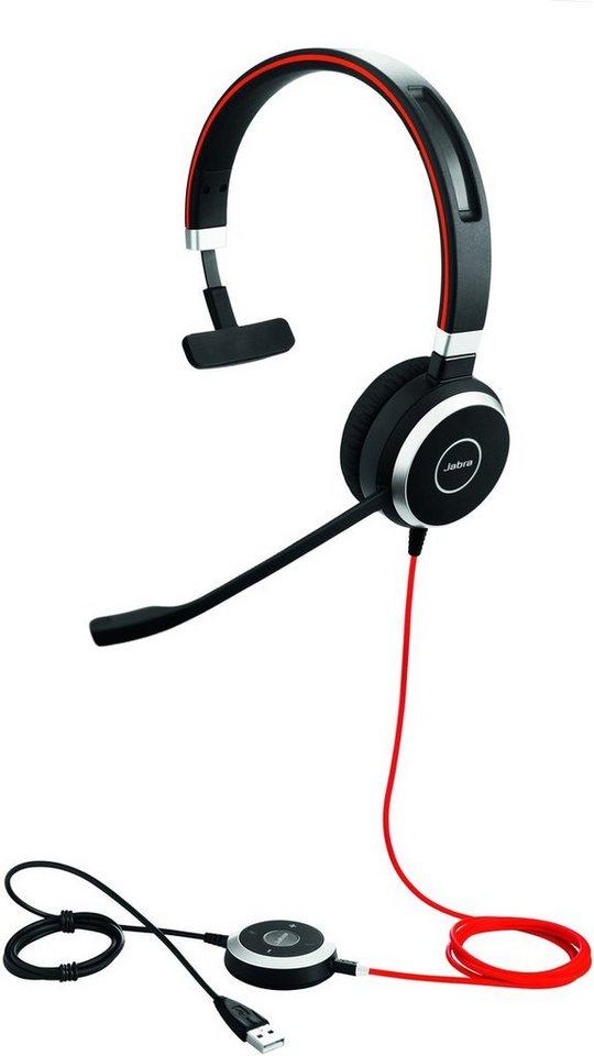 Jabra Headset »Evolve 40 MS Mono USB NC« in Schwarz