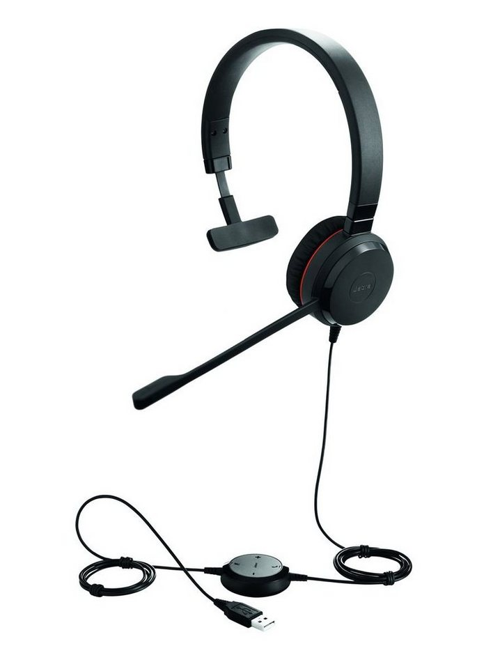 Jabra Headset »Evolve 30 UC Mono USB NC« in Schwarz