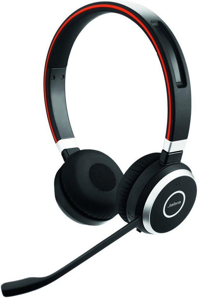 Jabra Headset »Evolve 65 MS Duo USB NC« in Schwarz
