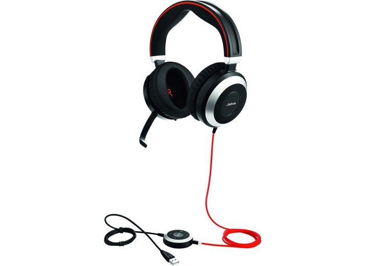 Jabra Headset »Evolve 80 MS Duo USB NC«