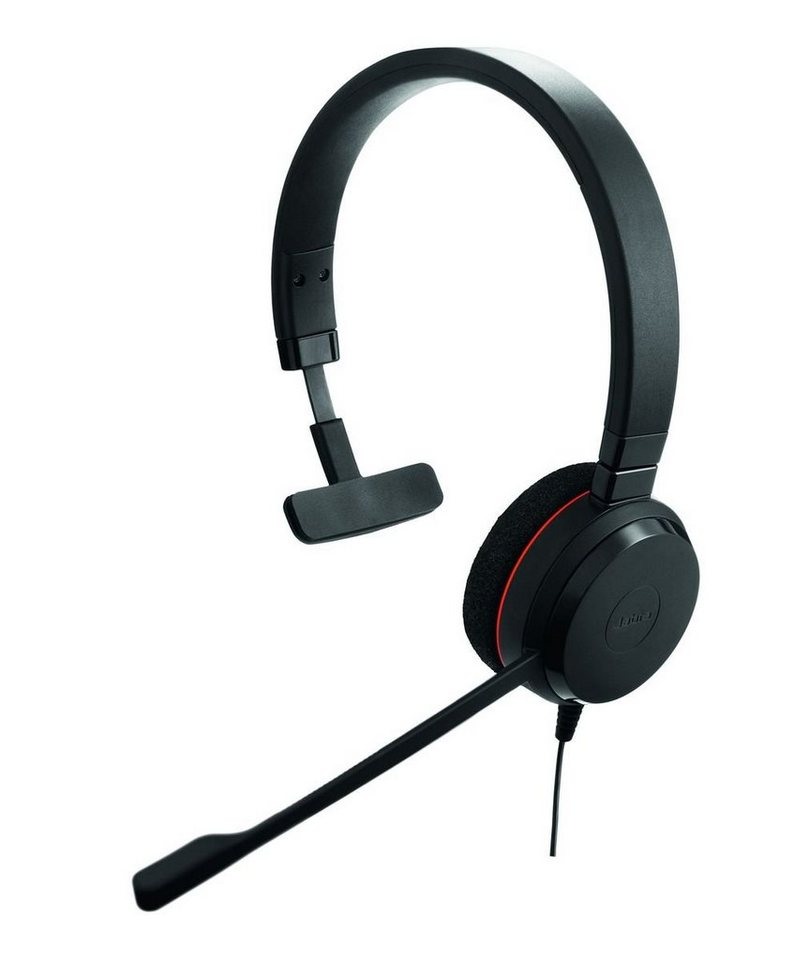 Jabra Headset »Evolve 20 MS Mono USB NC« in Schwarz
