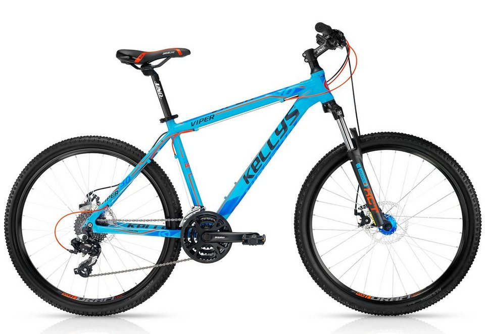 kellys mountainbike hardtail 26 zoll blau 24 gang kettenschaltung viper 30 blue online. Black Bedroom Furniture Sets. Home Design Ideas