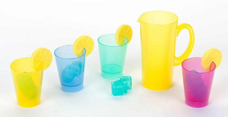 Klein Getränke-Set für die Spielküche, »Villery & Boch Cocktail-Set Colour Concept mini«