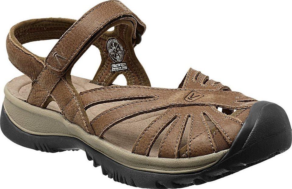 Keen Sandale »Rose Leather Sandals Women« in braun