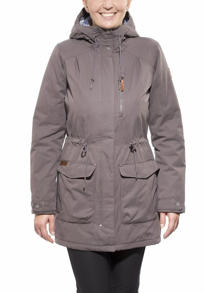 Columbia Outdoorjacke »Canyon Cross Jacket Women« in braun