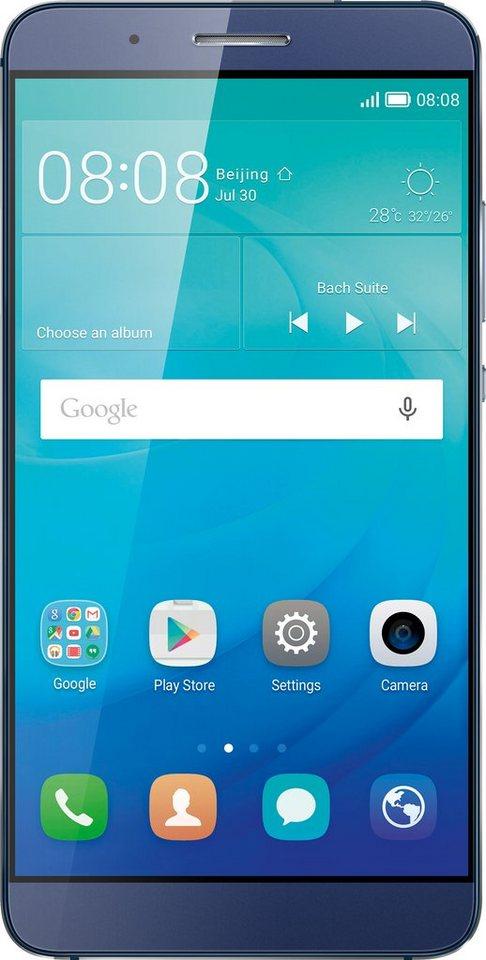Huawei ShotX Smartphone, 13,2 cm (5,2 Zoll) Display, LTE (4G), Android™ 5.1.1 mit EMUI 3.1 lite in blau