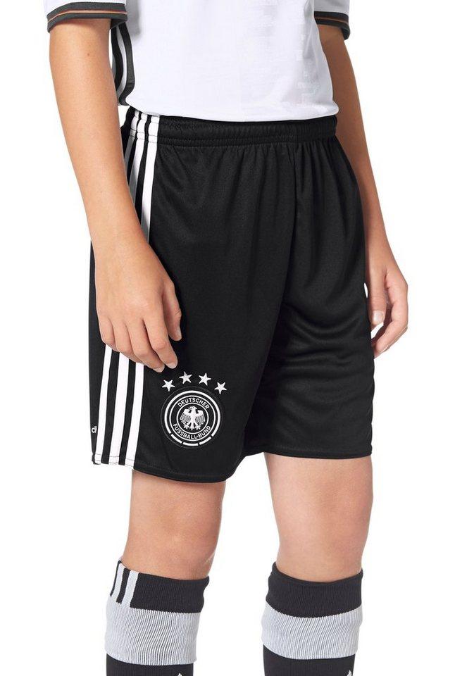 adidas Performance DFB HOME SHORT YOUTH EM 2016 Shorts in Schwarz