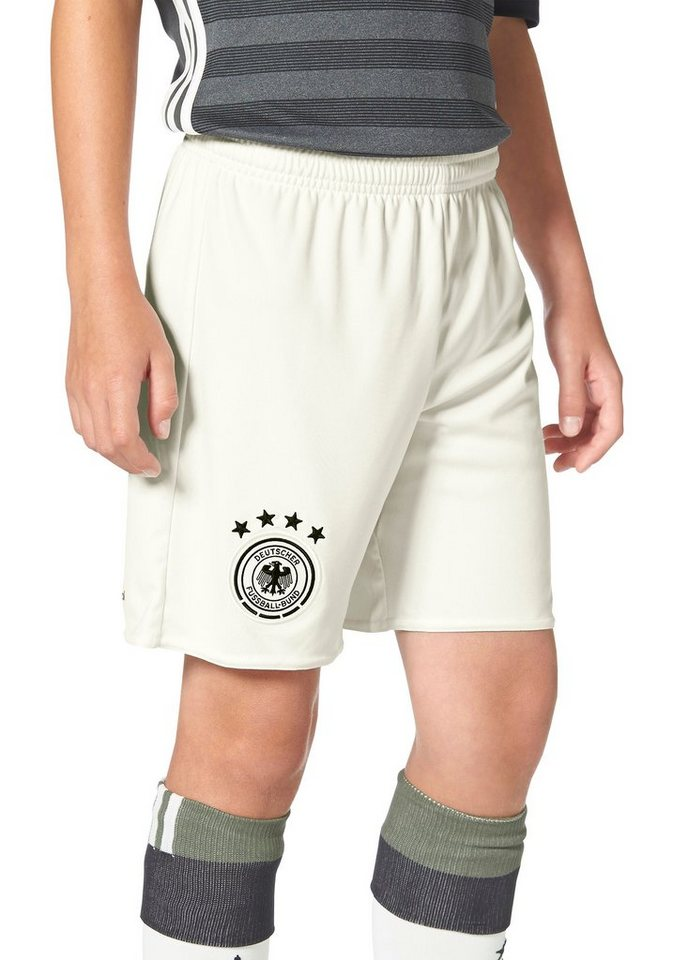 adidas Performance DFB AWAY SHORT YOUTH EM 2016 Shorts in Offwhite