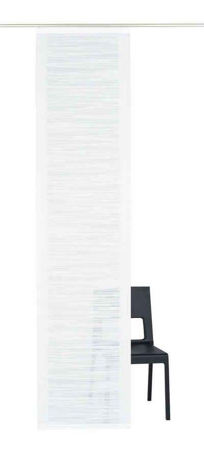 Schiebegardine »Padova«, Neutex for you!, Klettband (1 Stück), inkl. Befestigungszubehör, Breite: 57 cm