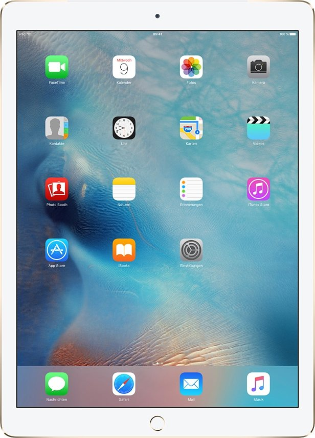 "Apple iPad Pro 12,9"" Cellular 128 GB in Gold"