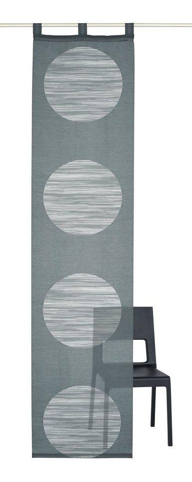 schiebegardine deko trends padova mit schlaufen 1. Black Bedroom Furniture Sets. Home Design Ideas