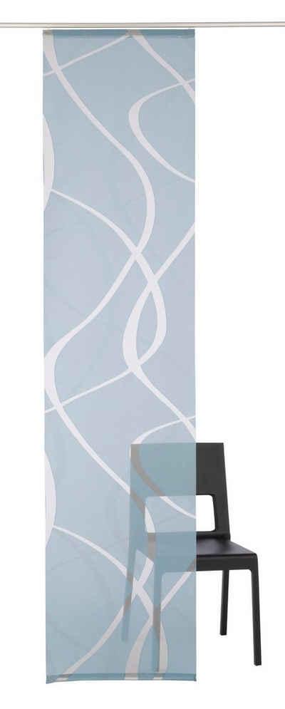 Schiebegardine »Rumbek«, Neutex for you!, Klettband (1 Stück), inkl. Befestigungszubehör, Breite: 57 cm