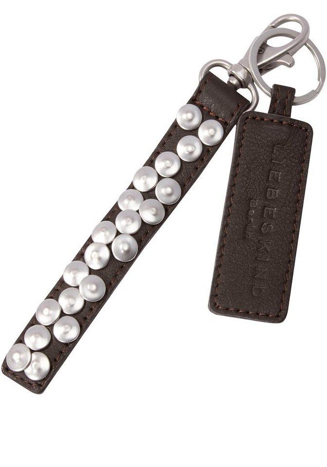 Liebeskind Schlüsselanhänger »Tag« in dunkelbraun