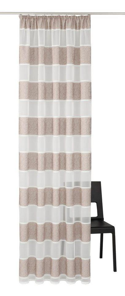 gardine home wohnideen sofia mit kr uselband 1 st ck online kaufen otto. Black Bedroom Furniture Sets. Home Design Ideas