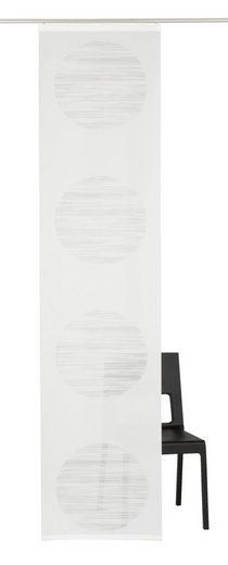 Schiebegardine »Padova«, DEKO TRENDS, Klettband (1 Stück), ohne Befestigungszubehör