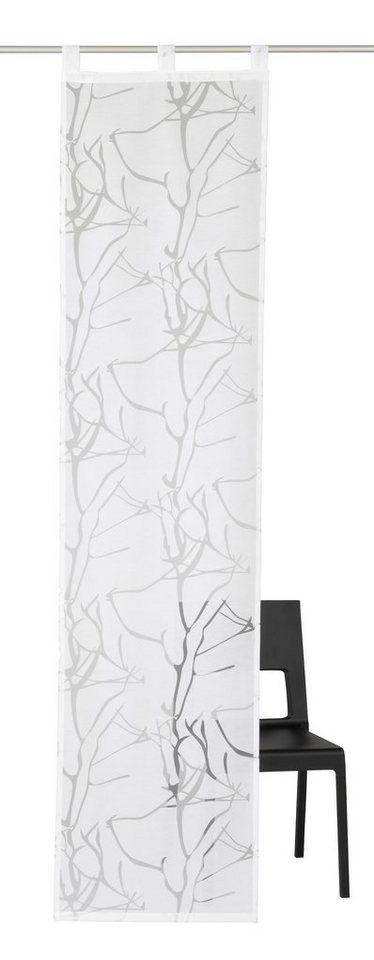 schiebegardine my home barito mit schlaufen 1 st ck online kaufen otto. Black Bedroom Furniture Sets. Home Design Ideas