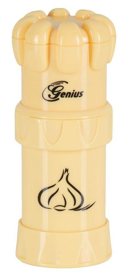 Genius® Knoblauchschneider, »G5« in gelb