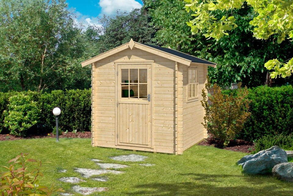 OUTDOOR LIFE PRODUCTS Gartenhaus »Mosel 1«, BxT: 200x200 cm in natur