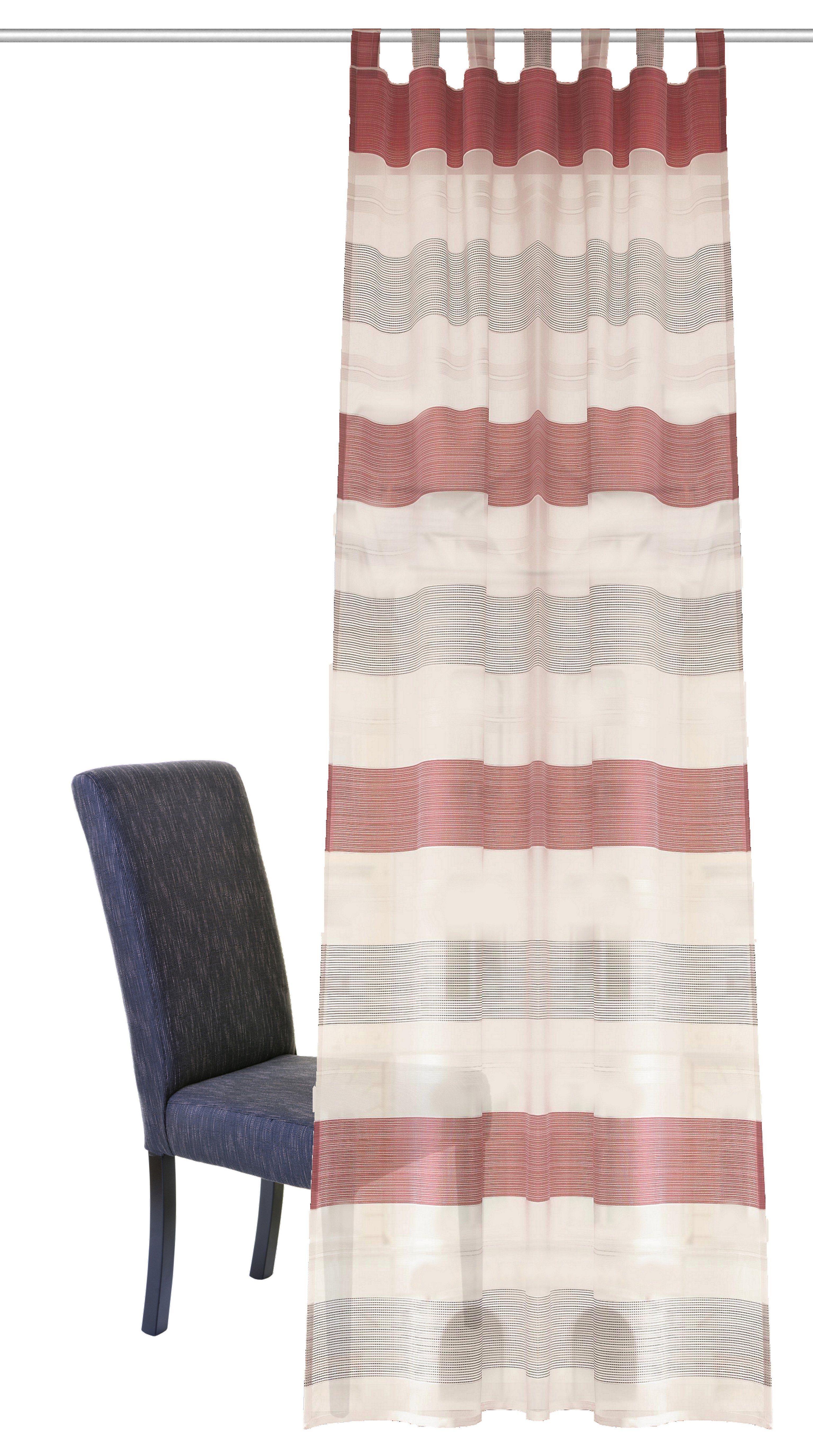 Vorhang, Home Wohnideen, »CANAN«, mit Schlaufen (1 Stück)