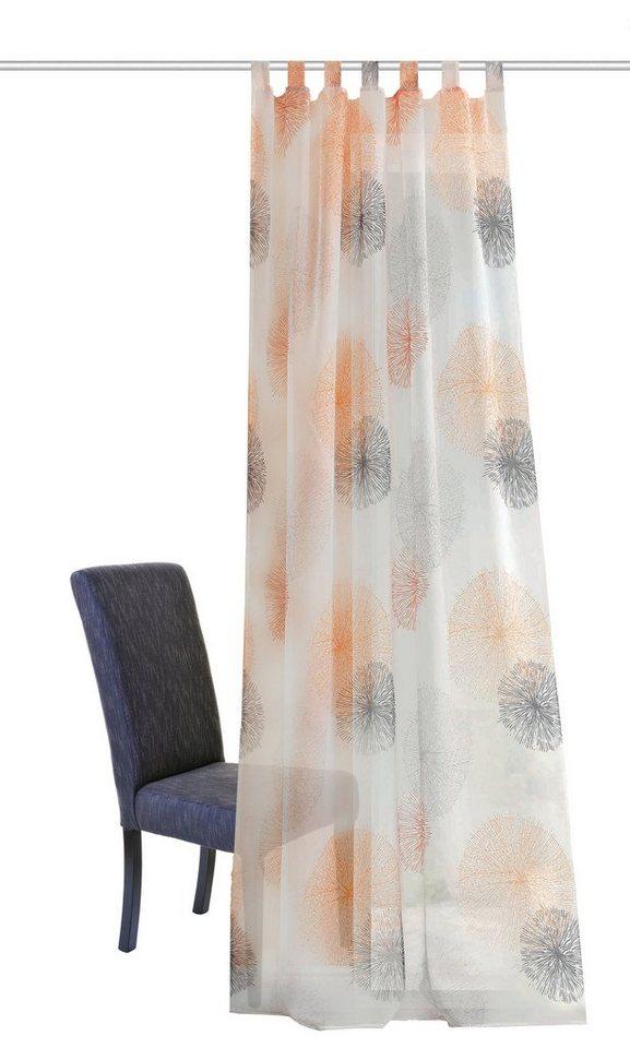Vorhang, Home Wohnideen, »ADELE« (1 Stück) in orange