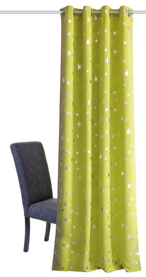 Vorhang, Home Wohnideen, »SINAIDA« (1 Stück) in apfelgrün