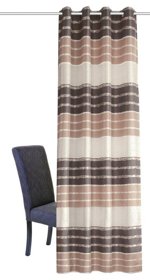 Vorhang, Home Wohnideen, »EDDA« (1 Stück) in braun