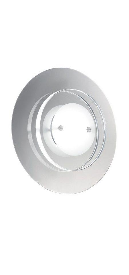 Trio LED-Wandleuchte, 1flg., inkl. OSRAM-LED in chromfarben, Glas klar/satiniert