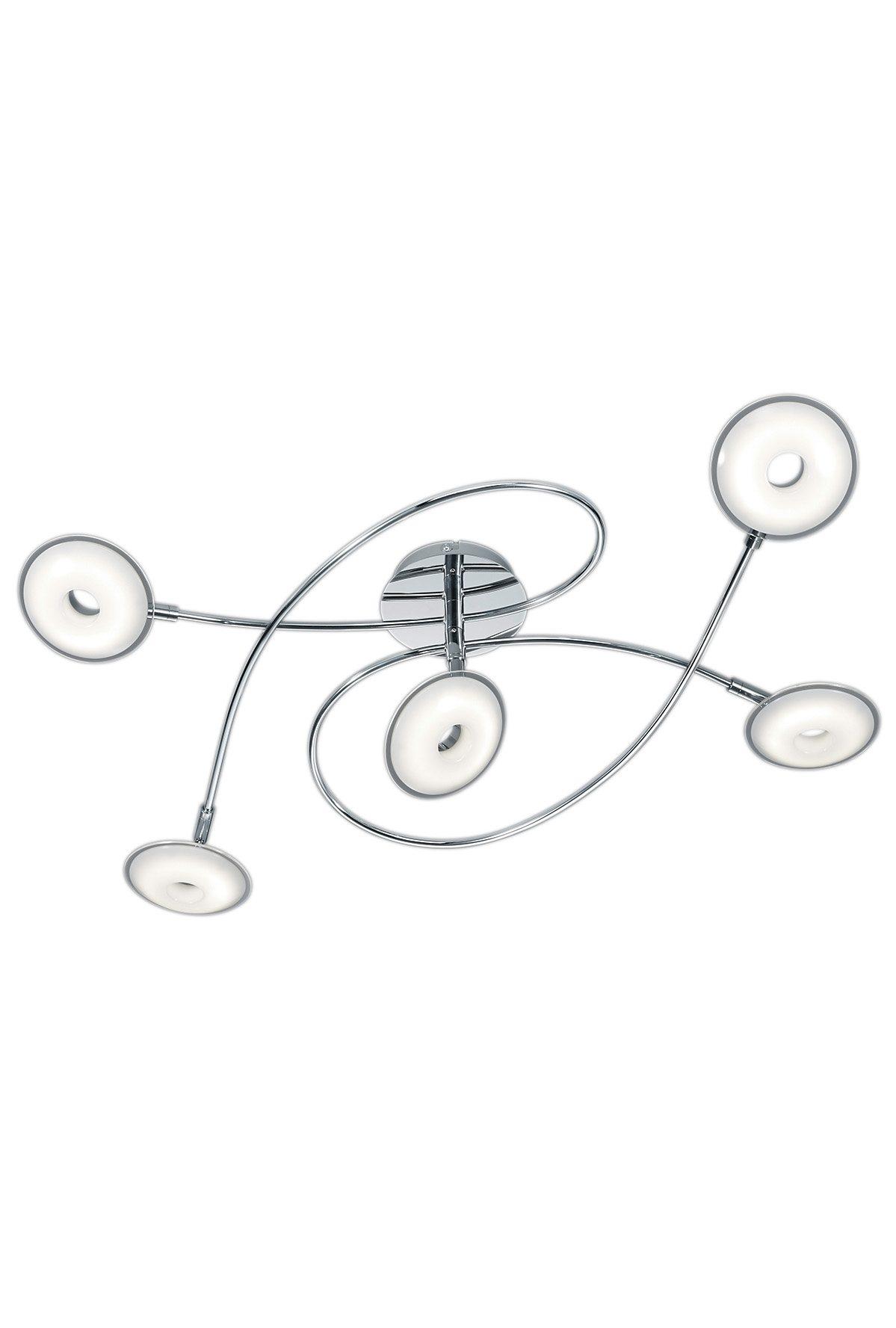 Trio LED-Deckenleuchte, 5flg., »PILATUS«