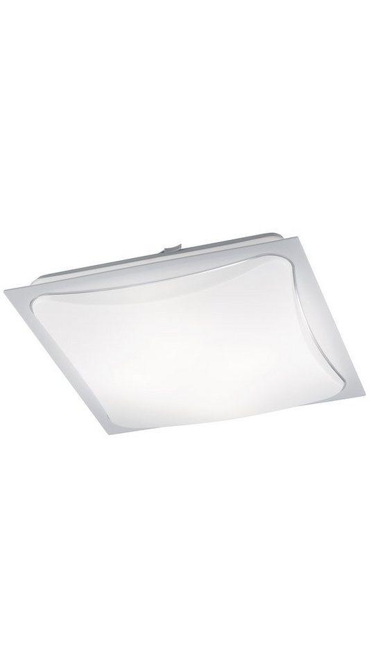 Trio LED-Deckenleuchte, 4flg., »CORNET« in Acryl weiß mit Rahmen, weiß