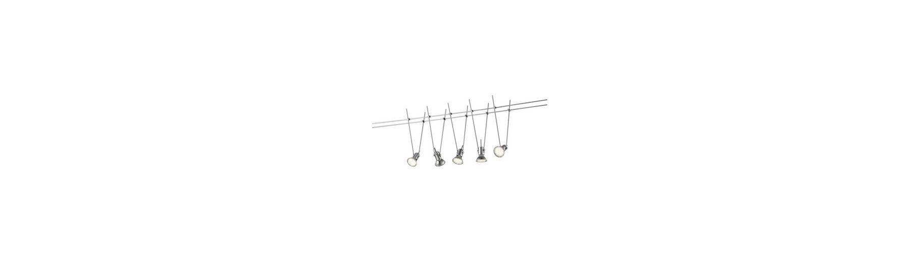 Trio LED-Deckenleuchten/Seilsystem, 5flg., »BASIC«