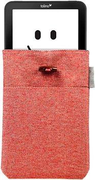 Tolino Tasche aus Strick passend für den Tolino E-Book-Reader Shine 2 HD & Vision 3 HD in Rot