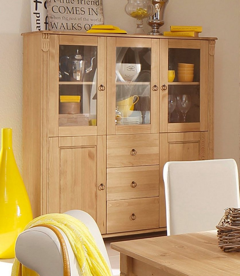 home affaire highboard ferrera 127 cm breit otto. Black Bedroom Furniture Sets. Home Design Ideas