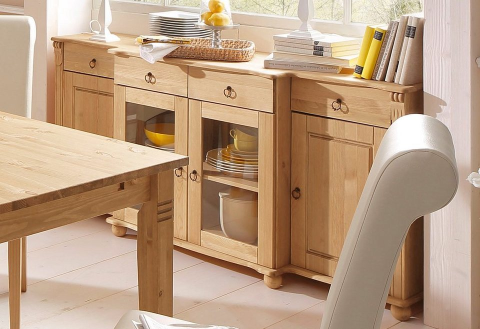 home affaire sideboard ferrera 167 cm breit otto. Black Bedroom Furniture Sets. Home Design Ideas