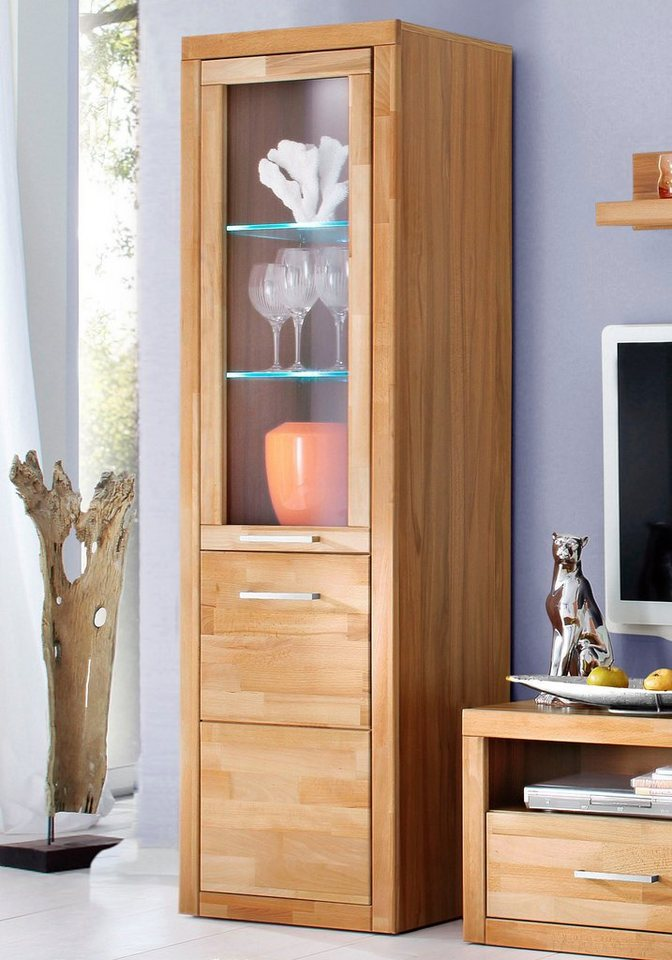 vitrine paula h he 180 cm online kaufen otto. Black Bedroom Furniture Sets. Home Design Ideas