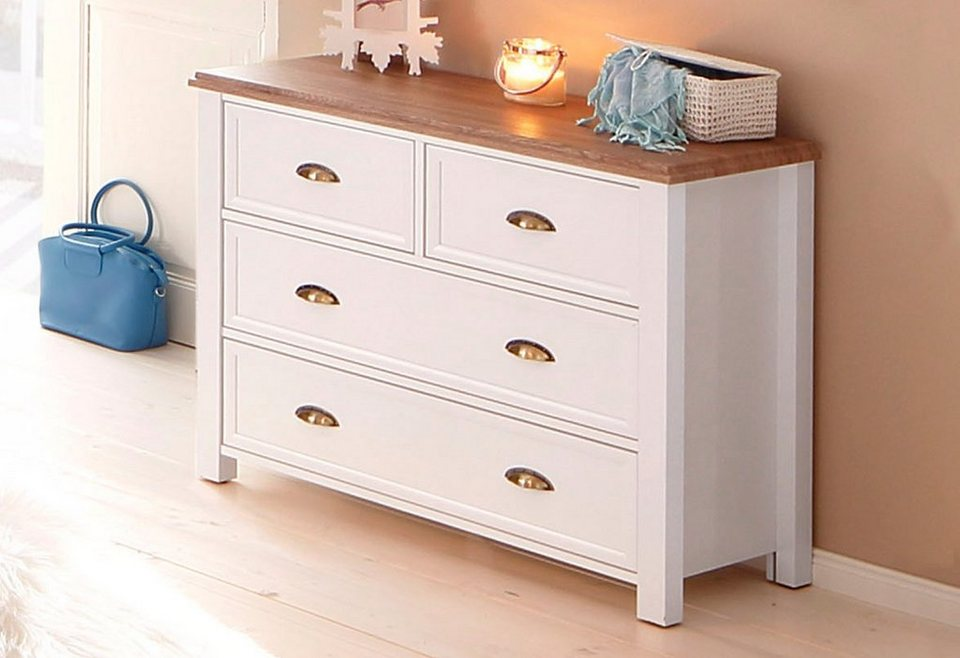 kommode home affaire chateau breite 95 cm otto. Black Bedroom Furniture Sets. Home Design Ideas