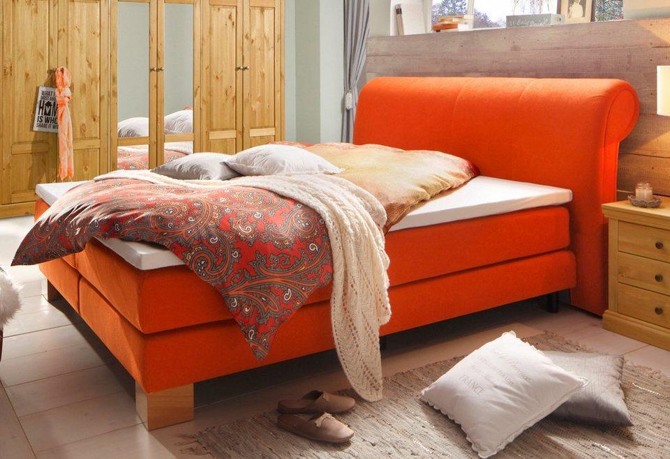 home affaire boxspringbett shiloh online kaufen otto. Black Bedroom Furniture Sets. Home Design Ideas