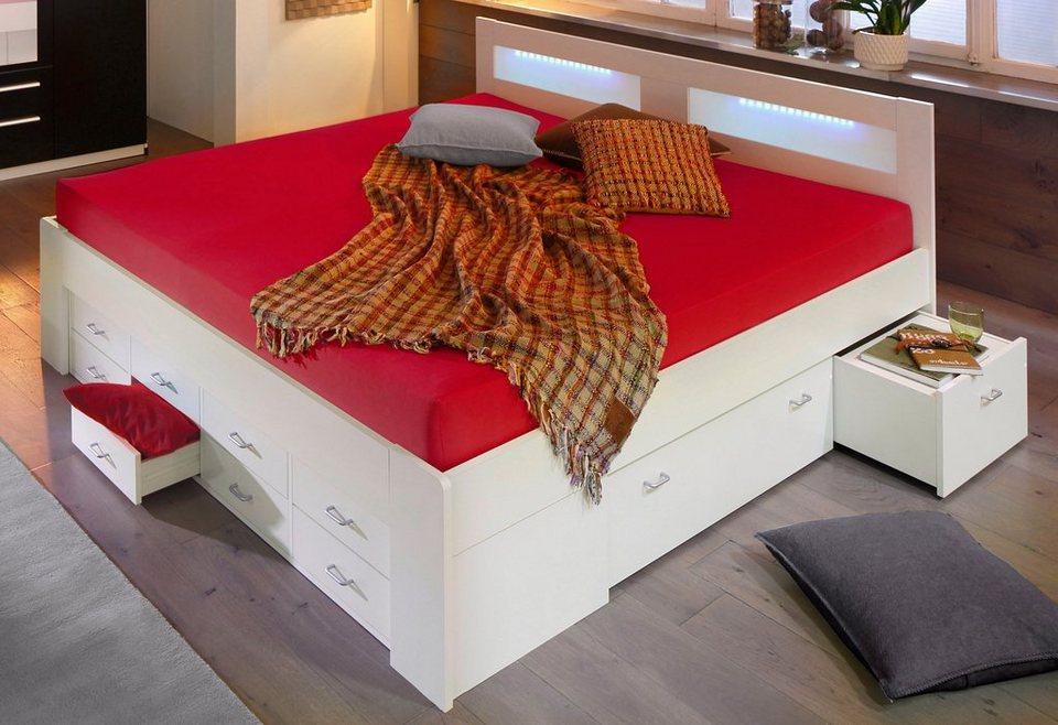 Bett, wahlweise mit Federkernmatratze kaufen | OTTO