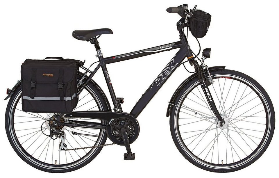 REX Bike Trekkingrad »Expedition«, 24 Gang Shimano Acera Schaltwerk ...