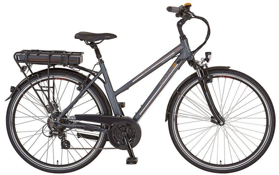 prophete e bike trekking damen 24 gang shimano kettenschaltung navigator 6 4 online kaufen. Black Bedroom Furniture Sets. Home Design Ideas