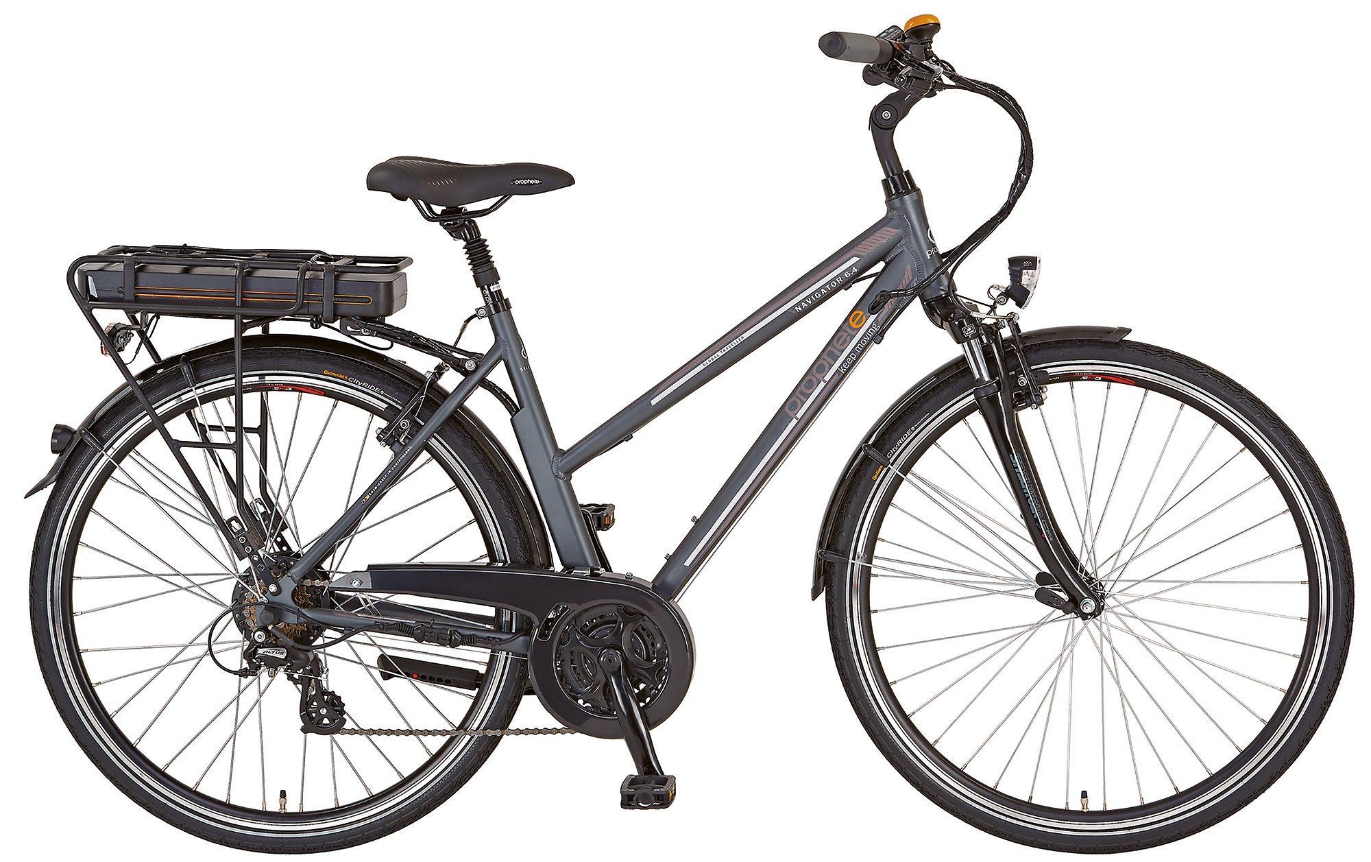 Prophete E-Bike Trekking Damen, 24 Gang Shimano Kettenschaltung, »Navigator 6.4«
