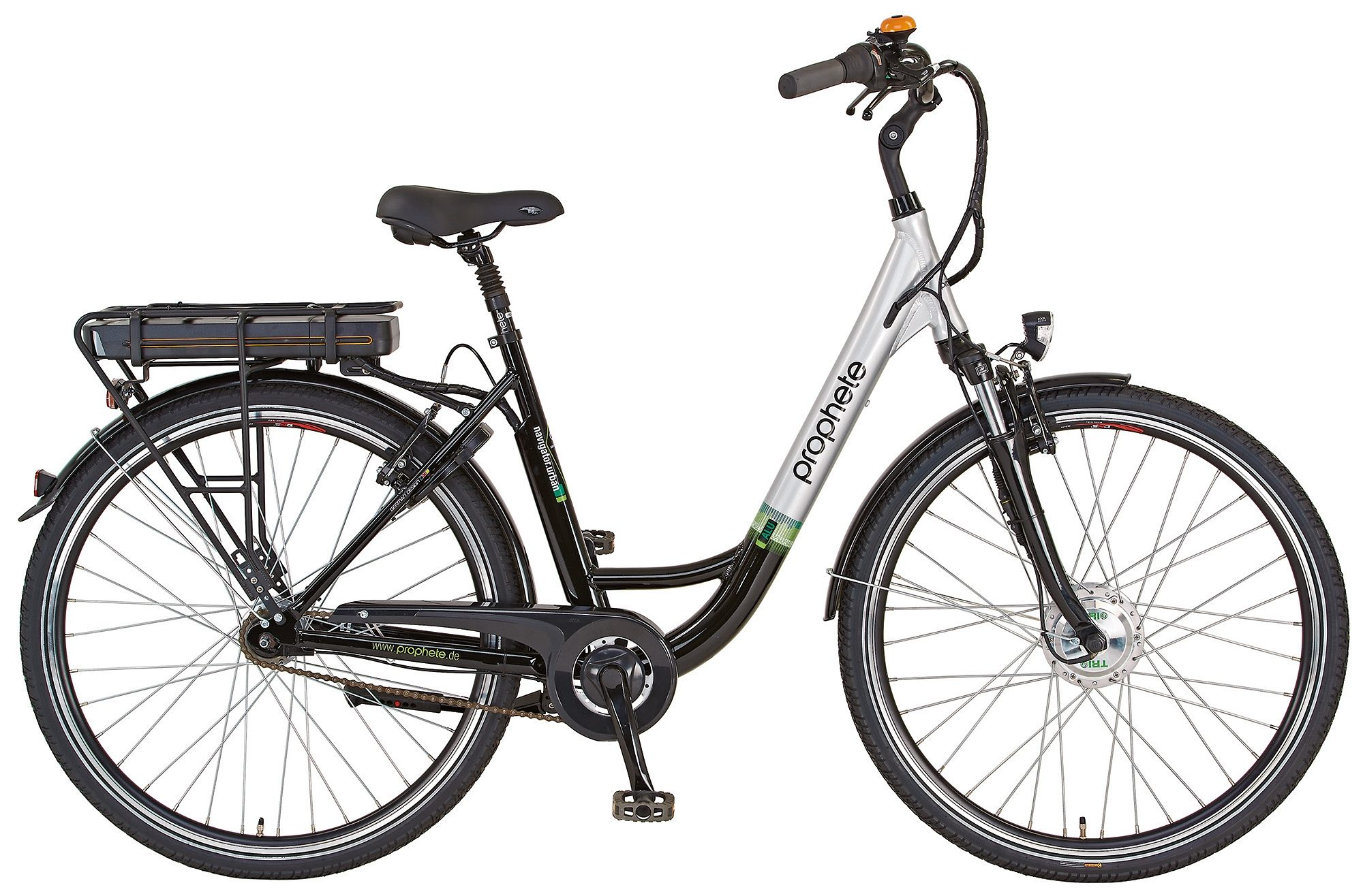 Prophete E-Bike City Damen, 28 Zoll, 7 Gang Shimano Nexus Nabenschaltung, »Navigator Urban«