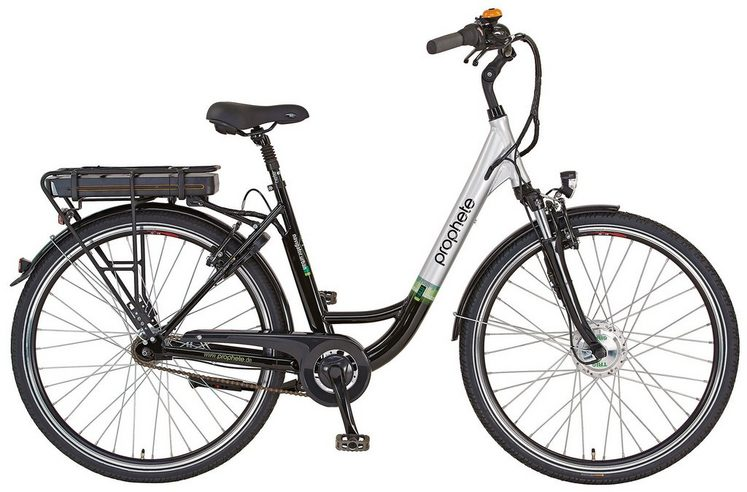 prophete e bike city damen 28 zoll 7 gang shimano nexus. Black Bedroom Furniture Sets. Home Design Ideas
