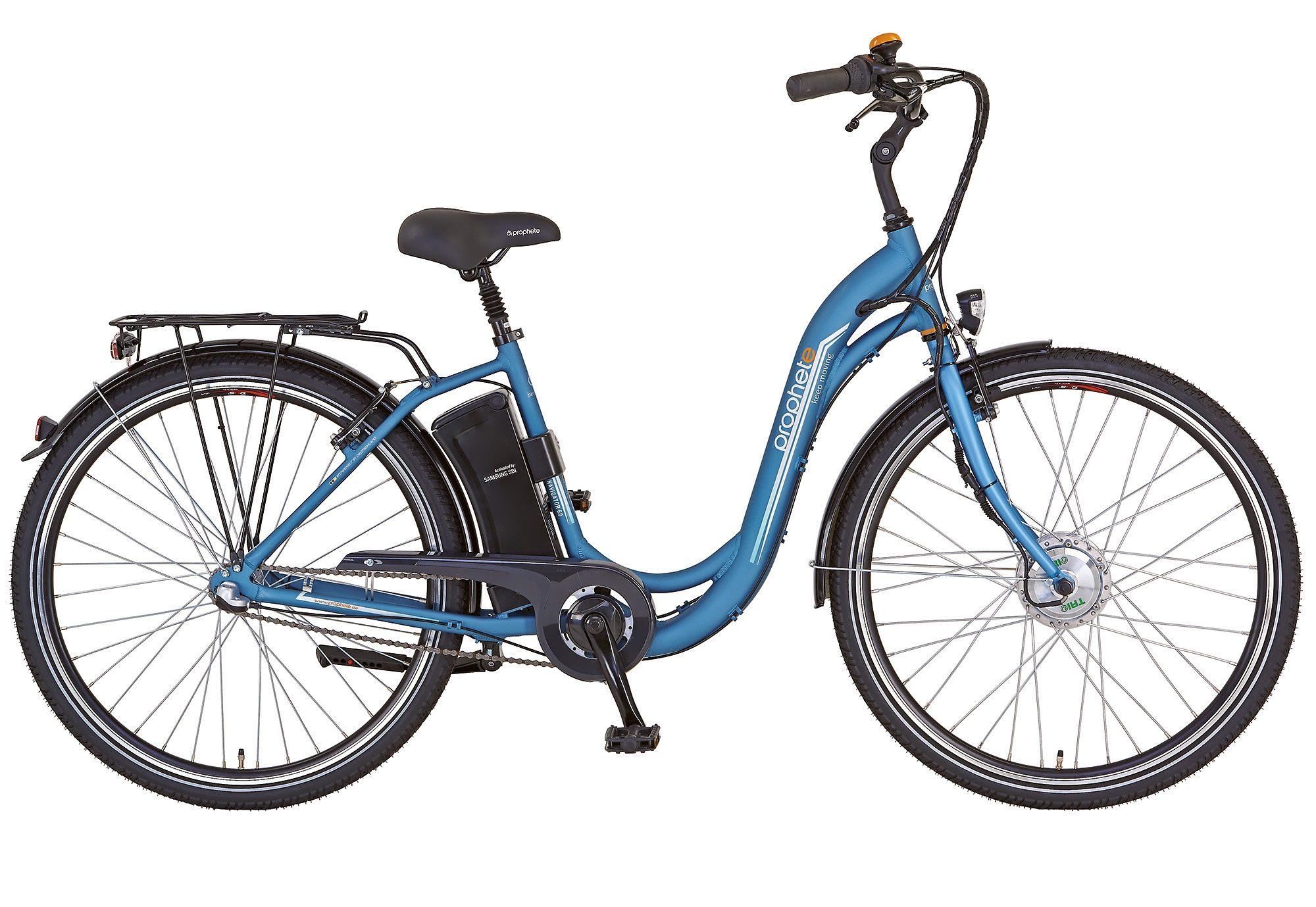 Prophete E-Bike City, 28 Zoll, 3 Gang Shimano Nexus Nabenschaltung, »Navigator 6.0«